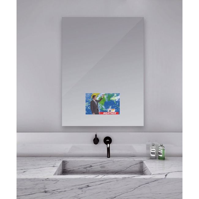 Loft Mirror with 21.5 inch TV  by Electric Mirror