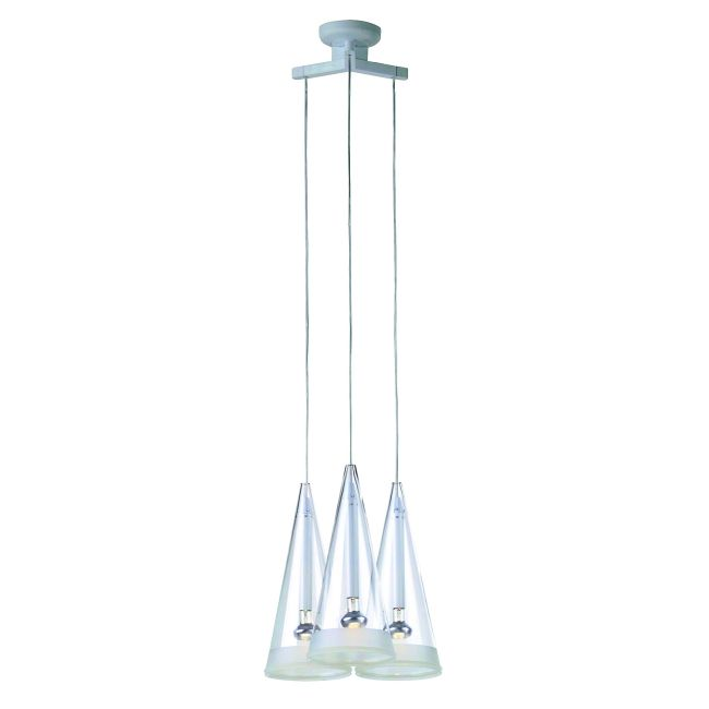 Fucsia 3 Light Suspension by Flos Lighting | FU241100