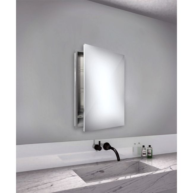 Simplicity Right Hinge Medicine Cabinet by Electric Mirror | SIM-2340-RT