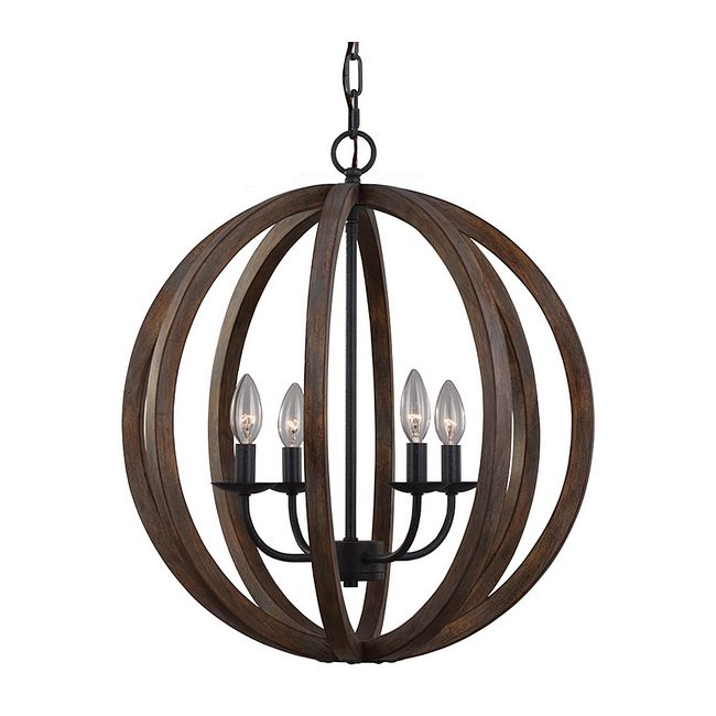 Allier Chandelier by Feiss | F2935/4WOW/AF