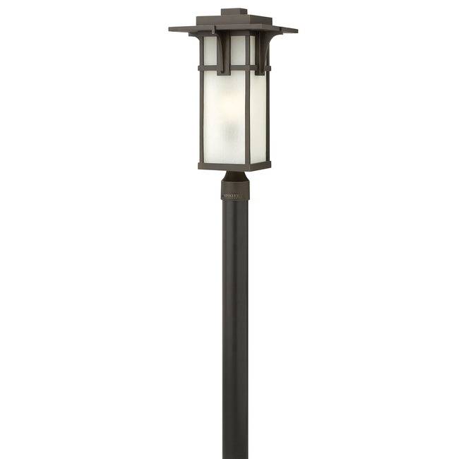 Manhattan Etched Glass Outdoor Post Mount by Hinkley Lighting | 2231OZ