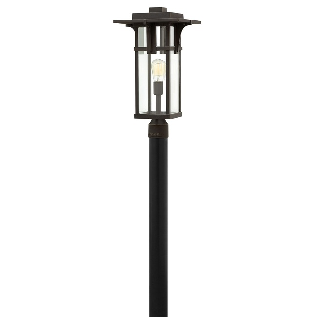 Manhattan Clear Glass Outdoor Post Mount by Hinkley Lighting | 2321OZ