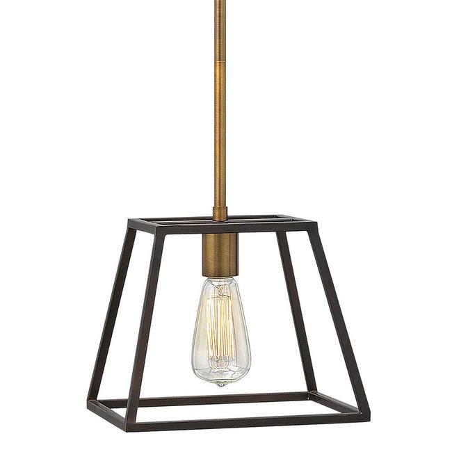 Fulton 1 Light Pendant by Hinkley Lighting | 3337BZ