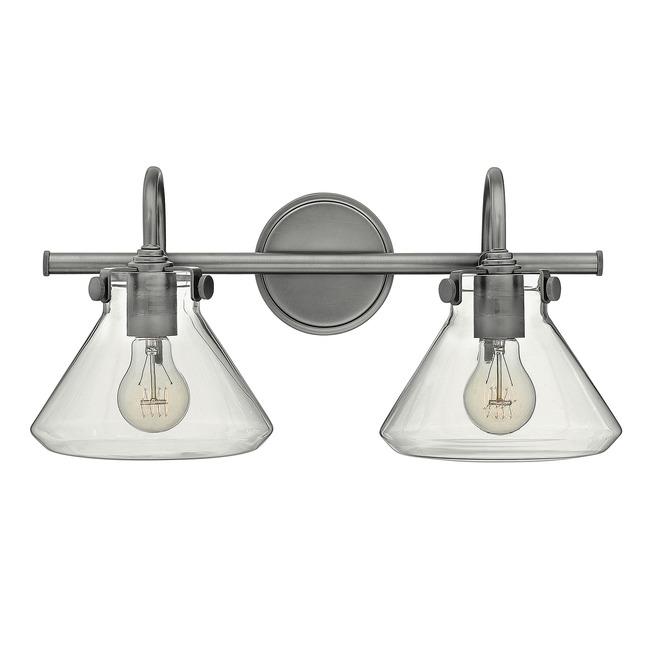 Congress Flat Bottom Bathroom Vanity Light  by Hinkley Lighting