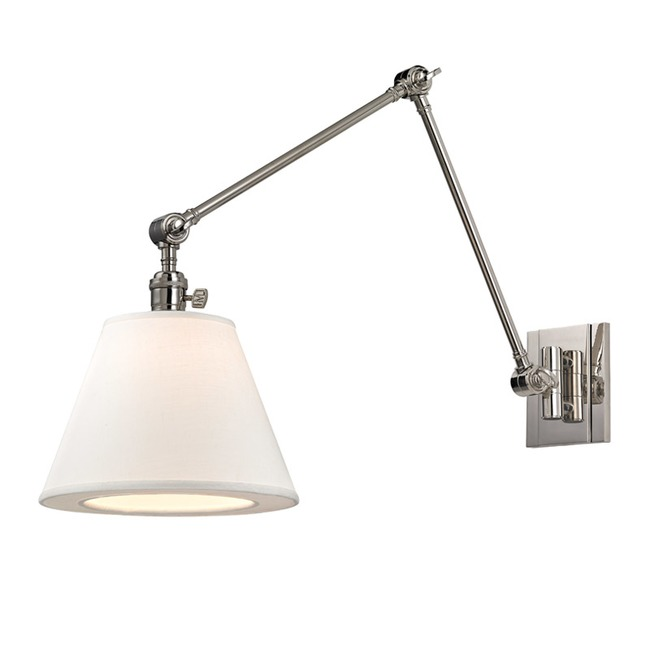 Hillsdale Vertical Swing Arm Wall Light  by Hudson Valley Lighting