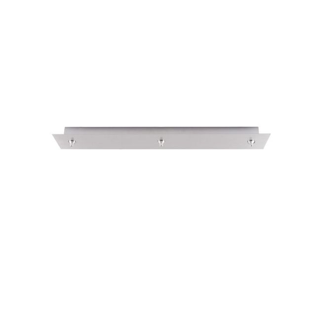 FSJ 3 Light Rectangle LED Canopy by LBL Lighting | CK003R-FJ-SC-LED