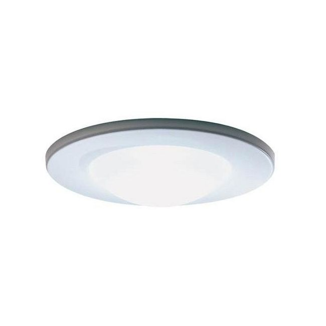 Lytecaster 2026 3.75 Inch MR16 Lensed Shower Trim by Lightolier | 2026WH