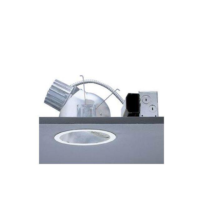 Calculite 8047 7 Inch CFL Lensed Wall Wash Trim by Lightolier   8047CCDW