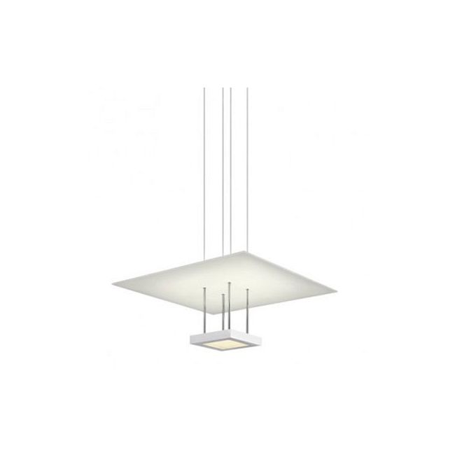 Chromaglo LED Bright White Square Reflector Pendant by SONNEMAN - A Way of Light | 2402.03