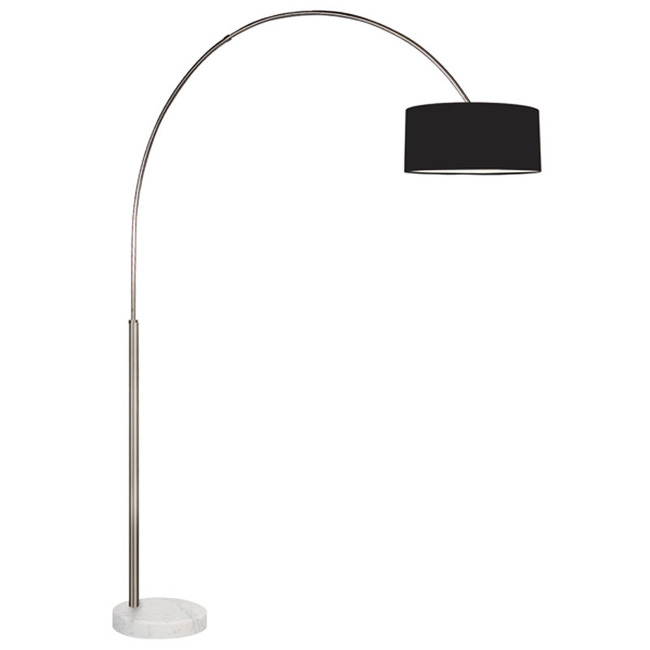 Arc shade floor lamp by sonneman a way of light 4097 13k