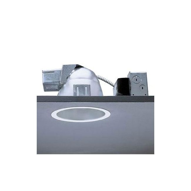 Calculite 8096D 7 Inch CFL Opal Lens Downlight Trim by Lightolier | 8096DWHW
