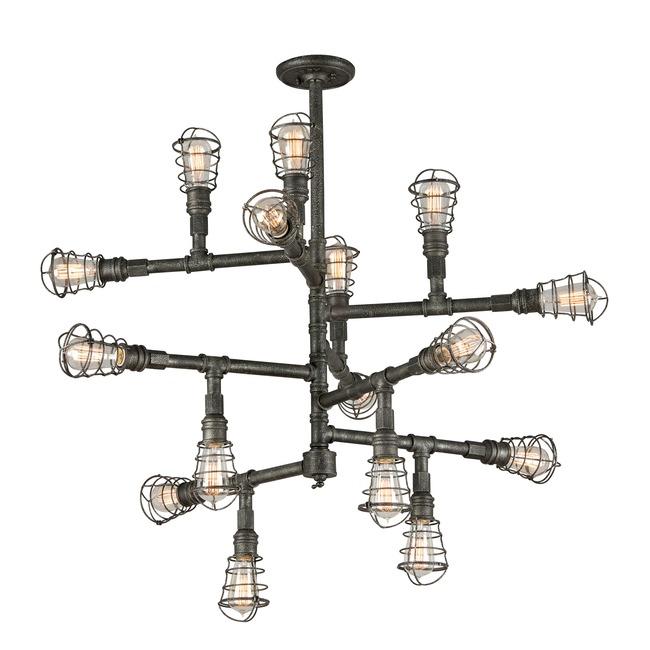 Conduit Chandelier by Troy Lighting | F3818
