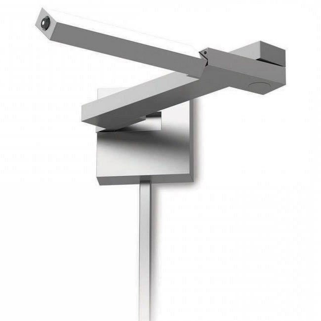 Flip Right LED Swing Arm Lamp by dweLED by WAC Lighting | BL-1021R-TT