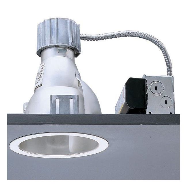 Calculite 8022WW 7 Inch CFL Single Wall Wash Trim by Lightolier | 8022WWWHW