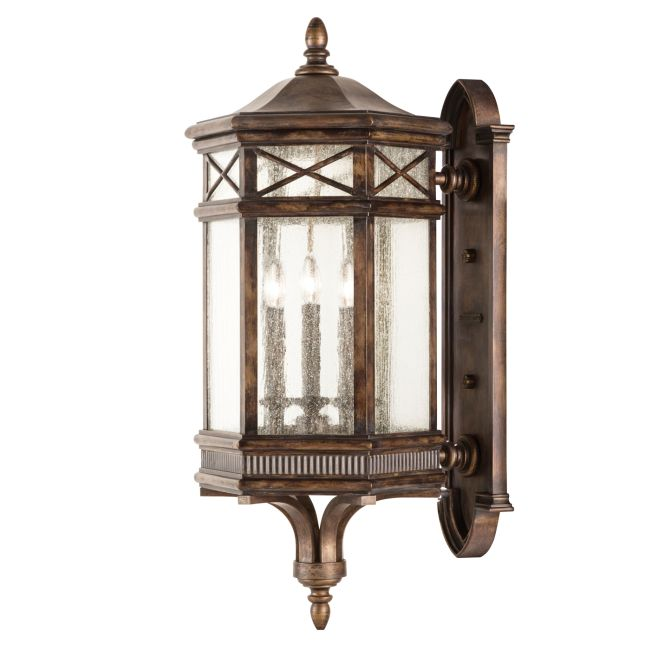 Holland Park Large Outdoor Wall Sconce  by Fine Art Lamps