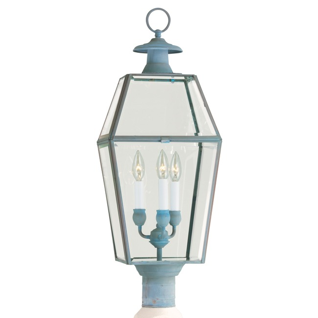 Olde Colony Outdoor Post Mount by Norwell Lighting   1068-VE-BE