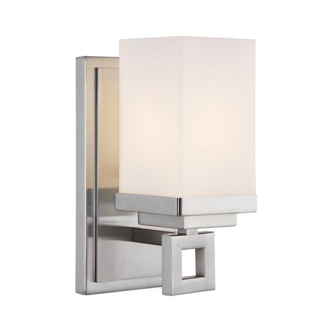 Nelio Wall Light by Golden Lighting   4444-BA1 PW