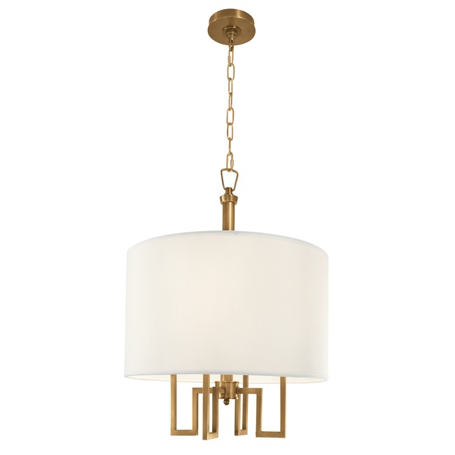 Maya 9677 Chandelier by Norwell Lighting | 9677-AG-WS