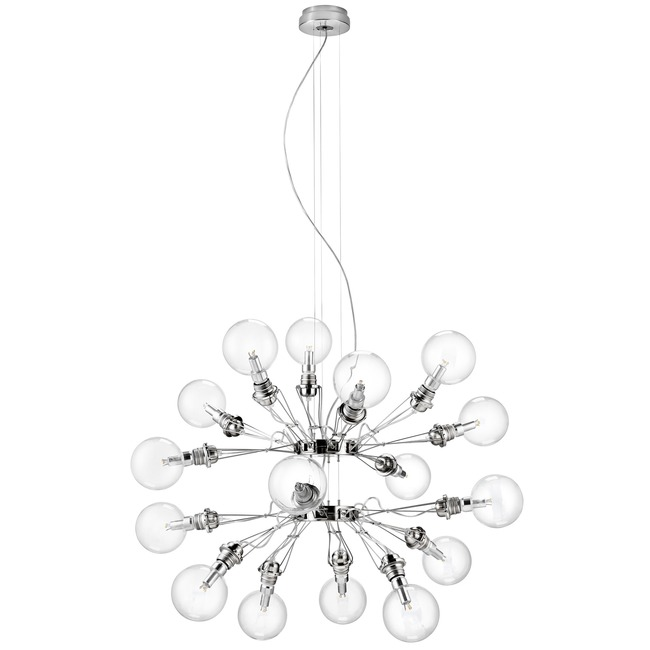Matrix Doppia Chandelier by Lightology Collection | MATRIX 387 44
