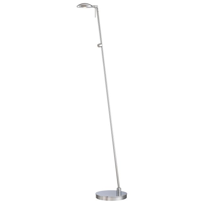 Georges LED Round Head Reading Room Pharmacy Floor Lamp by George Kovacs | P4334-077