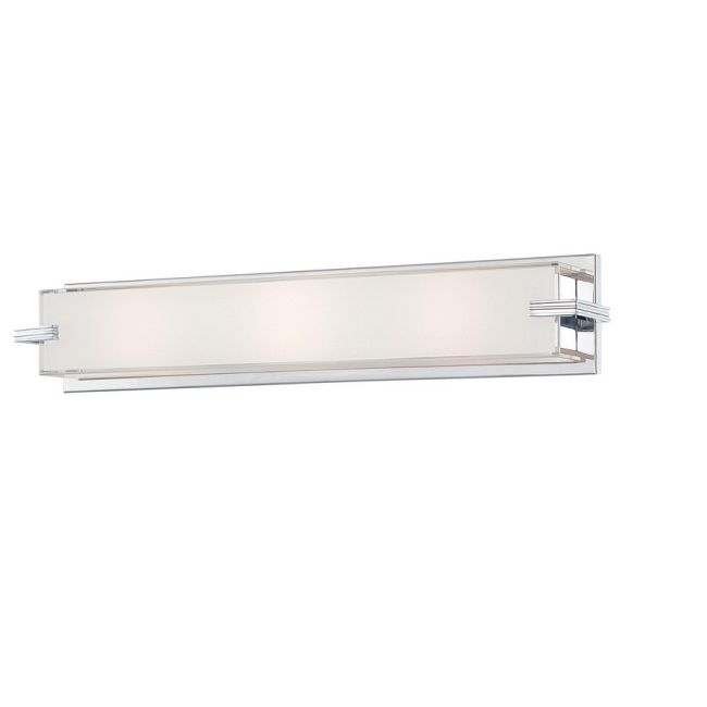 Cubism Linear Bathroom Vanity Light by George Kovacs | P5216-077