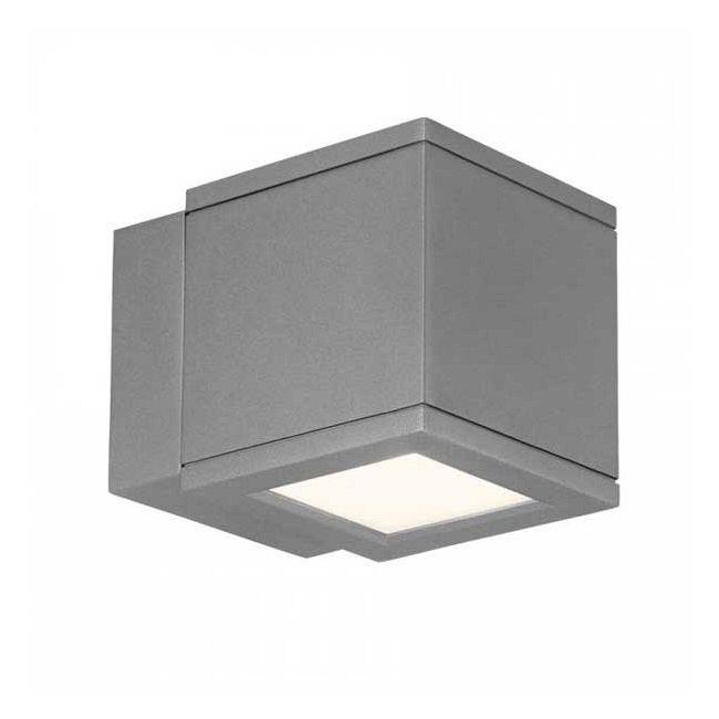 Rubix 2504 Outdoor Wall Sconce by WAC Lighting | WS-W2504-AL