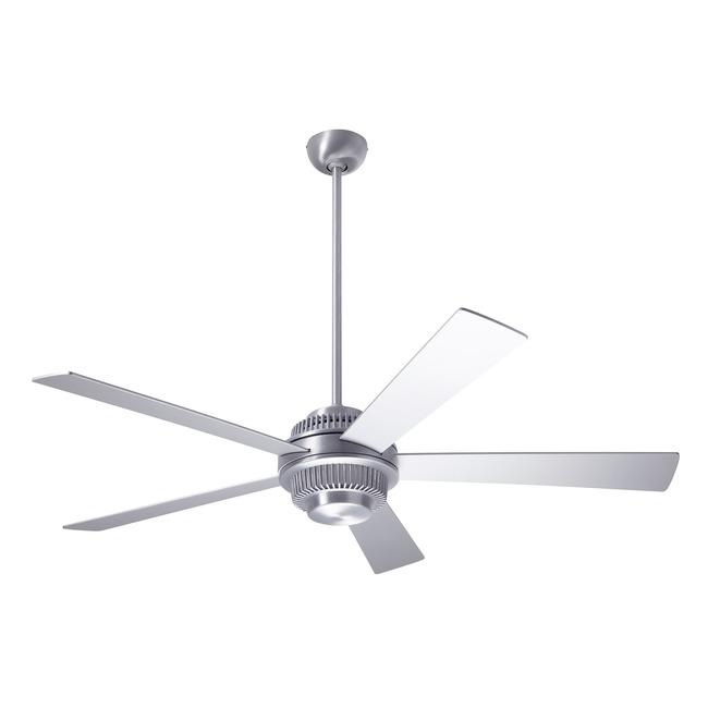 Solus Ceiling Fan with Remote Control by Modern Fan Co. | SOL-BA-52-AL-NL-003