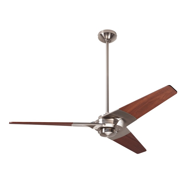 Torsion Ceiling Fan No Light by Modern Fan Co. | TOR-BN-52-MG-NL-003