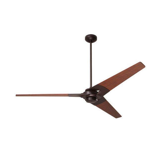 Torsion Ceiling Fan with Remote Control by Modern Fan Co. | TOR-DB-62-MG-NL-003