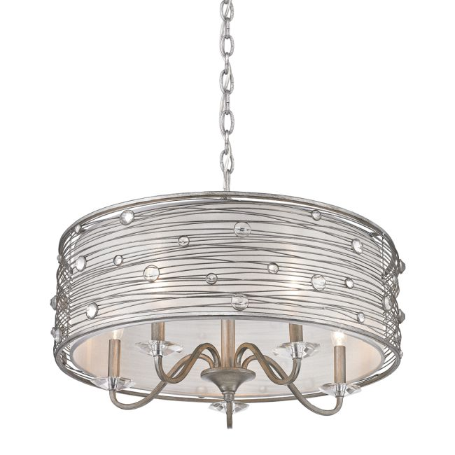 Joia Chandelier  by Golden Lighting