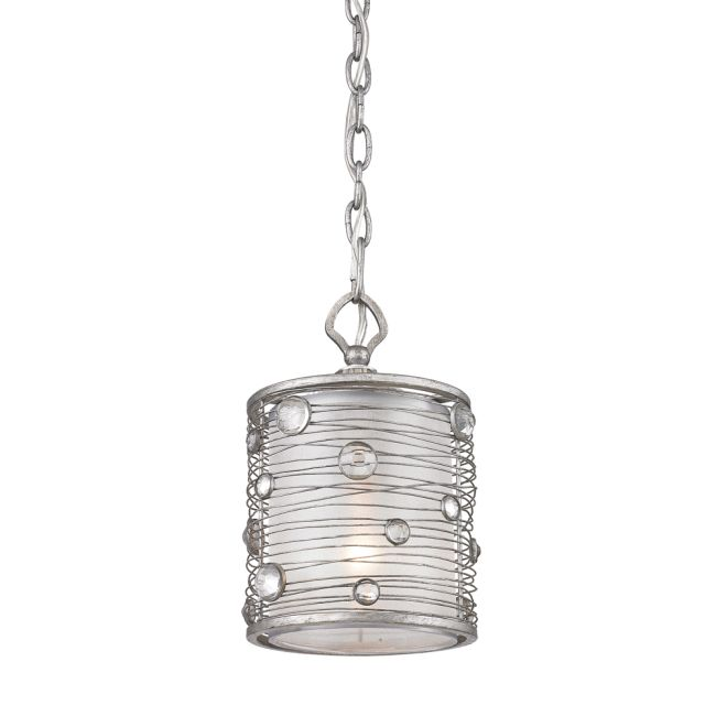 Joia Mini Pendant by Golden Lighting | 1993-M1L PS