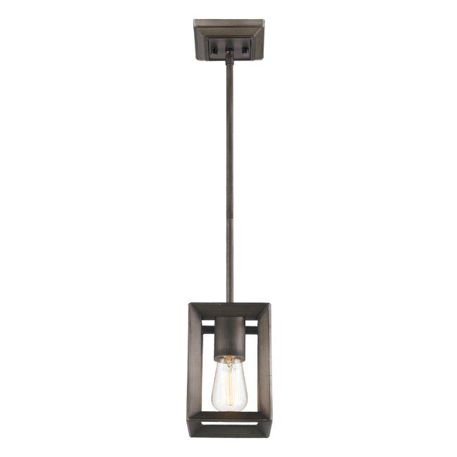 Smyth Mini Pendant by Golden Lighting | 2073-M1L GMT