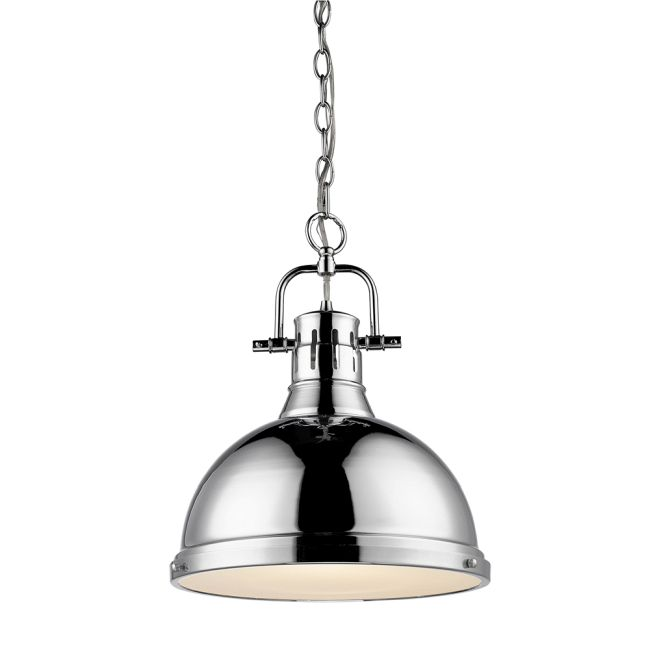 Duncan Chain Pendant by Golden Lighting | 3602-L CH-CH