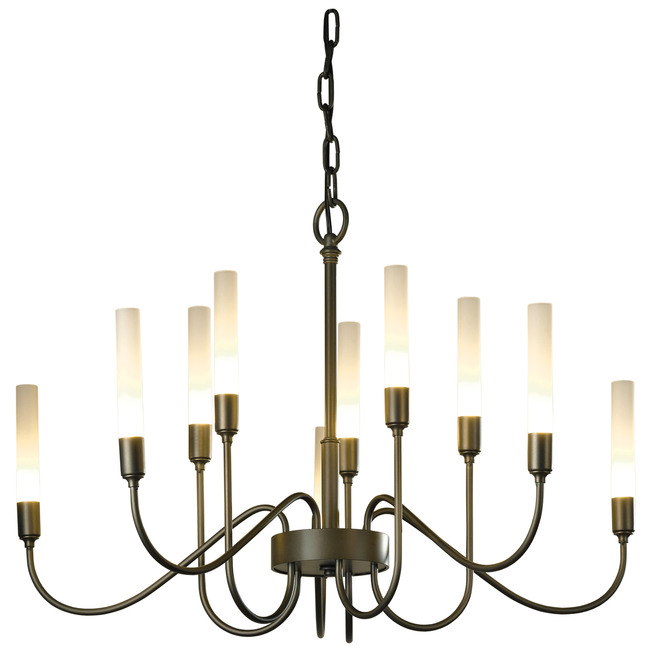 Lisse 10 Arm Chandelier by Hubbardton Forge | 106030-1002