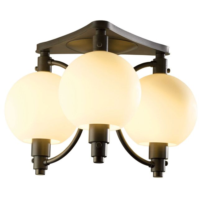 Pluto Semi Flush Ceiling Light by Hubbardton Forge | 128703-1004