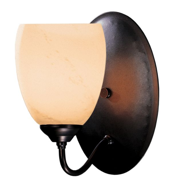 Simple Lines Opal Shade Wall Light by Hubbardton Forge | 204212-1006