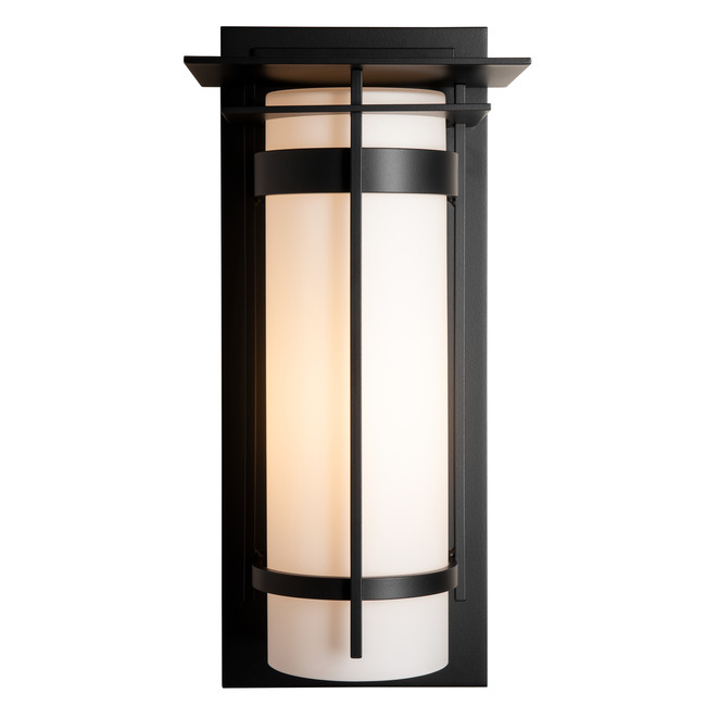 Banded Top Plate Outdoor Wall Sconce  by Hubbardton Forge