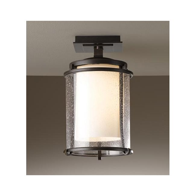 Meridian Outdoor Semi Flush Mount by Hubbardton Forge   365605-07-ZS297