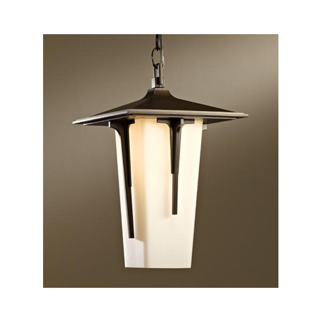 Modern Prairie Outdoor Pendant by Hubbardton Forge   365710-07-G385