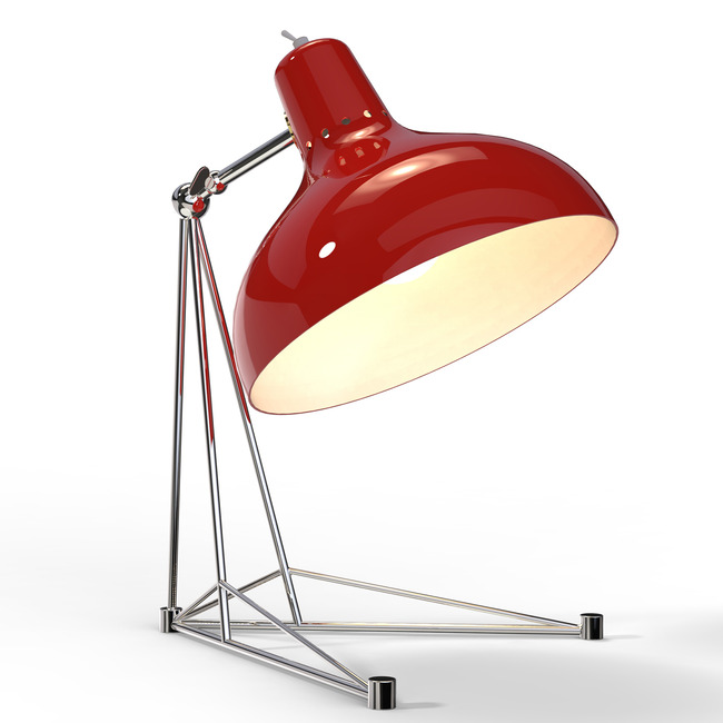 Diana table lamp by delightfull diana ta red