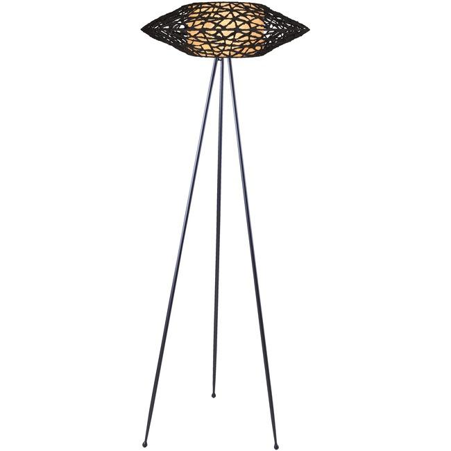 C U C ME Tripod Floor Lamp  by Kenneth Cobonpue