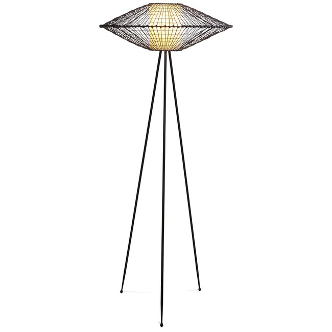 Kai Tripod Floor Lamp  by Kenneth Cobonpue
