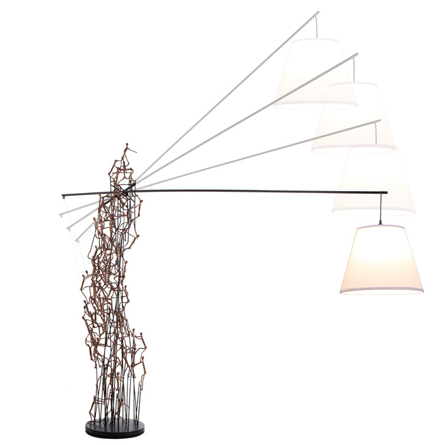 Little People Boomtown Floor Lamp by Hive | LLPB-BZ-8469