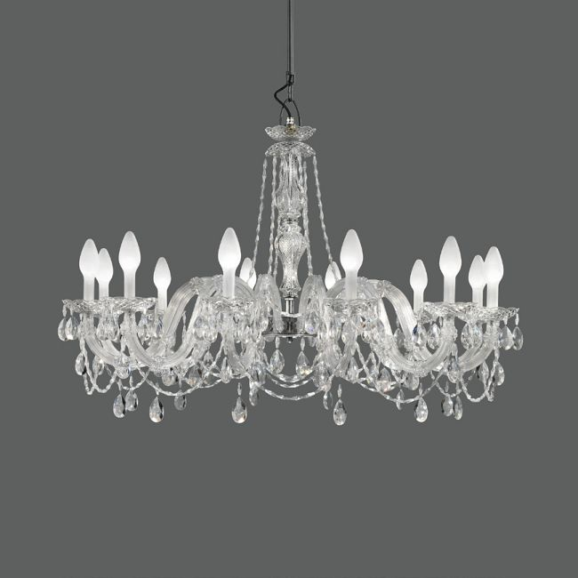 Drylight Outdoor Chandelier  by Masiero