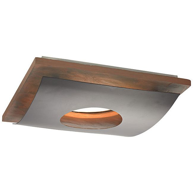 Tahoe Ceiling Flush Mount Trim Cover w/Downlight Opening  by Recesso Lights