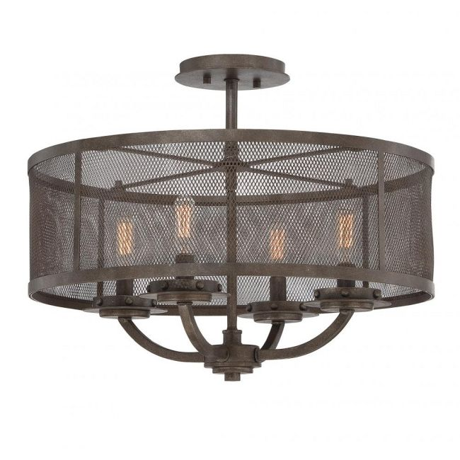 Nouvel Ceiling Semi Flush Mount  by Savoy House