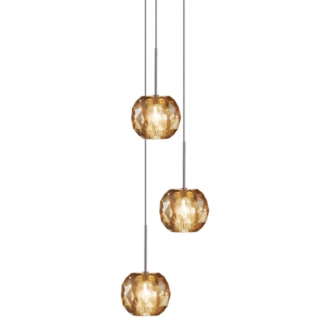 Gemma Multi Light Pendant  by Viso