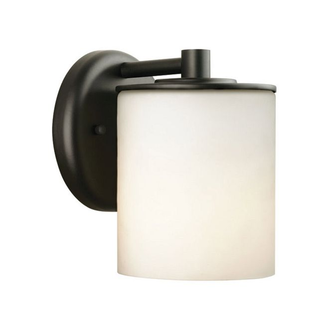 Midnight Round Outdoor Wall Sconce by Forecast | FM-F849919