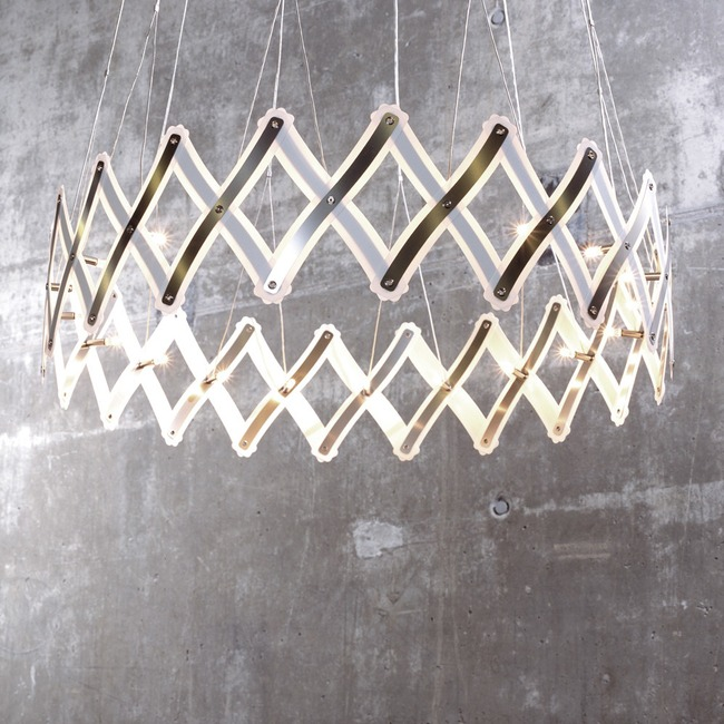Zoom Pendant  by Lightology Collection