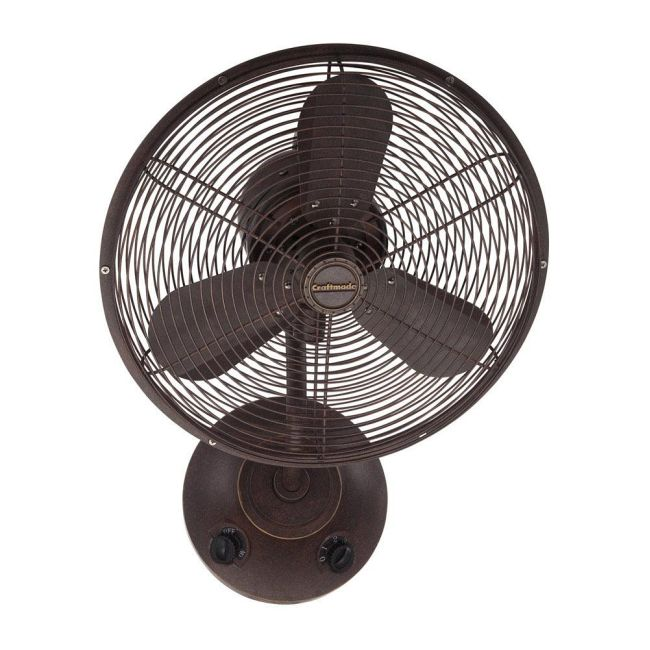 Bellows I Wall Mount Fan By Craftmade Bw116ag3